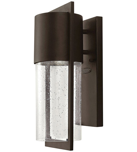 Hinkley Lighting Dwell 1 Light Outdoor Wall Lantern in Buckeye Bronze 1320KZ photo