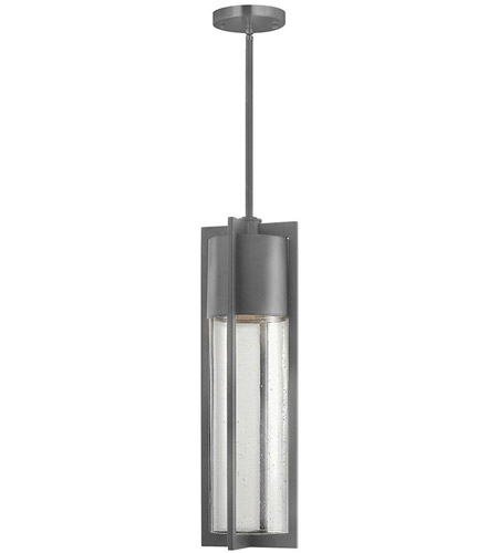 Hinkley Lighting Dwell 1 Light Outdoor Hanging Lantern in Hematite 1322HE