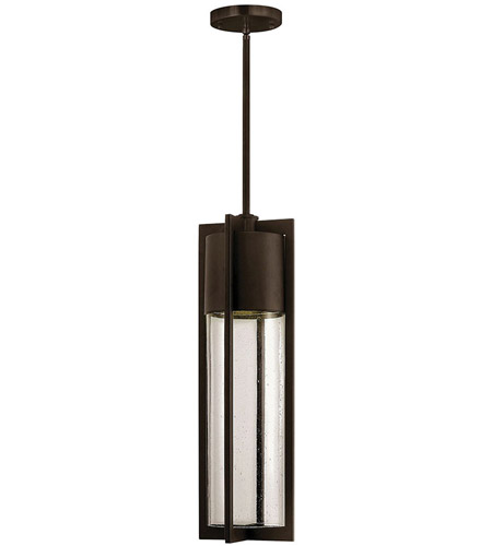 Hinkley Lighting Dwell 1 Light Outdoor Hanging Lantern in Buckeye Bronze 1322KZ-LED
