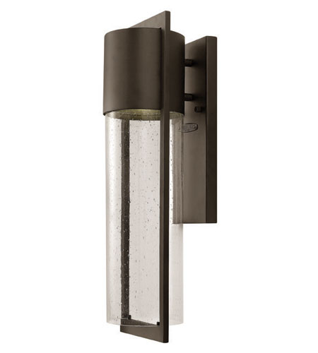 Hinkley Lighting Dwell 1 Light Outdoor Wall Lantern in Buckeye Bronze 1324KZ-ES