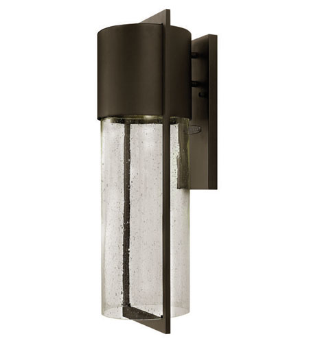Hinkley Lighting Shelter 1 Light Outdoor Wall Lantern in Buckeye Bronze 1325KZ-ES photo