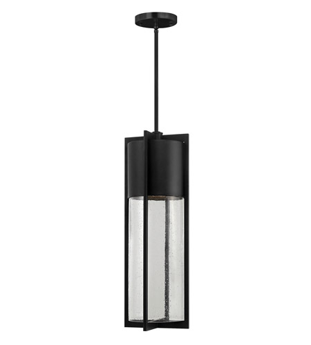 Hinkley Lighting Shelter 1 Light GU24 CFL Outdoor Hanging in Black 1328BK-GU24 photo