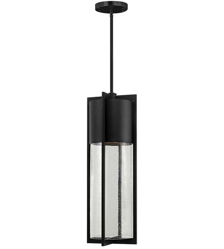 Hinkley Lighting Dwell 1 Light Outdoor Hanging Lantern in Black 1328BK