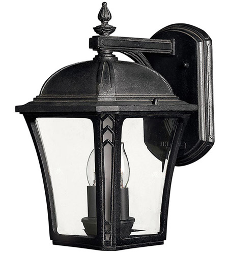 Hinkley 1334MB-LED Wabash LED 14 inch Museum Black Outdoor Wall Lantern photo