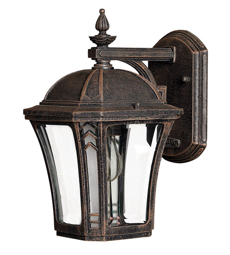 Hinkley Lighting Wabash 1 Light LED Outdoor Wall in Mocha 1336MO-LED