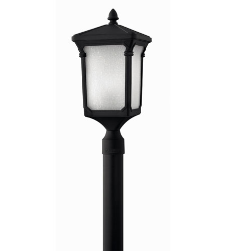 Hinkley Lighting Stratford 1 Light Post Lantern (Post Sold Separately) in Museum Black 1351MB-ES