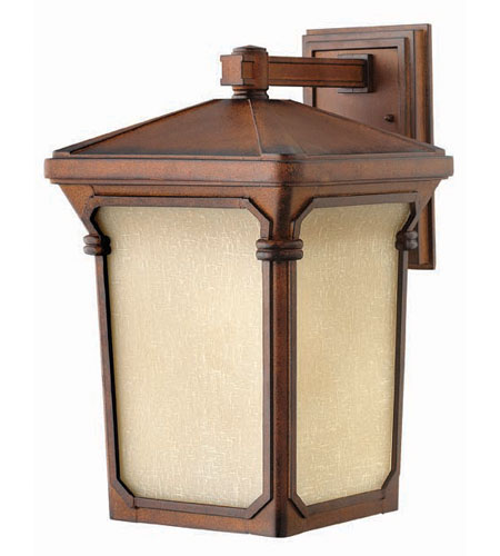 Hinkley Lighting Stratford 1 Light Outdoor Wall Lantern in Auburn 1355AU photo