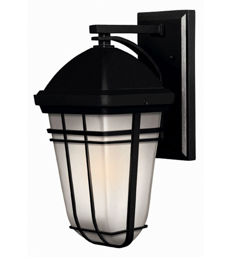 Hinkley Lighting Buckley 1 Light Outdoor Wall Lantern in Black 1370BK-ES photo