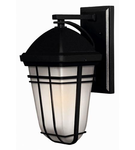 Hinkley Lighting Buckley 1 Light Outdoor Wall Lantern in Black 1370BK-ES