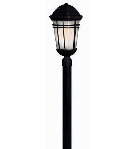 Hinkley Lighting Buckley 1 Light Post Lantern (Post Sold Separately) in Black 1371BK-ES