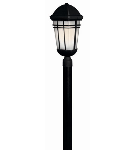 Hinkley Lighting Buckley 1 Light Post Lantern (Post Sold Separately) in Black 1371BK photo