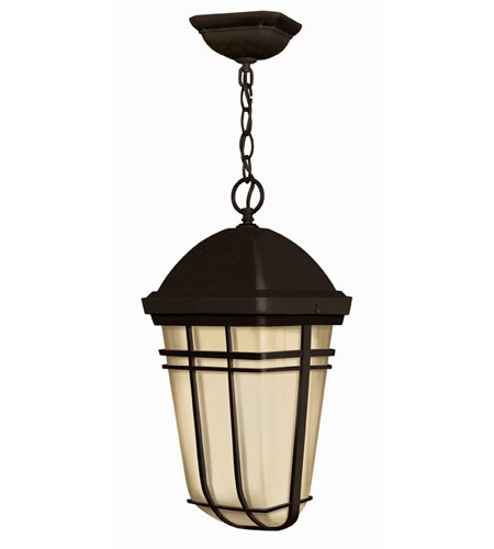 Hinkley Lighting Buckley 1 Light Outdoor Hanging Lantern in Olde Bronze 1372OB-ES photo