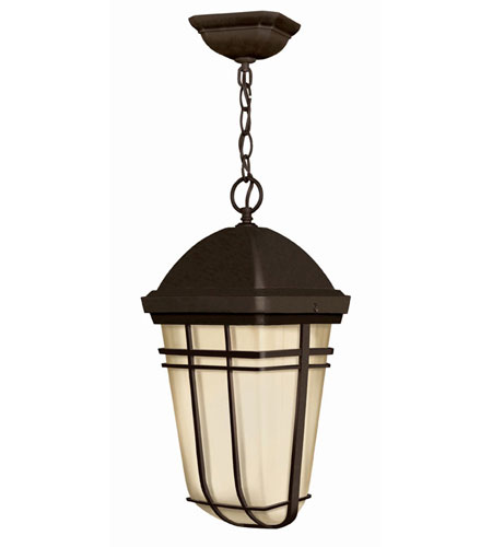 Hinkley Lighting Buckley 1 Light Outdoor Hanging Lantern in Olde Bronze 1372OB-LED