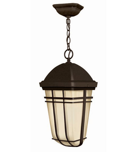 Hinkley Lighting Buckley 1 Light Outdoor Hanging Lantern in Olde Bronze 1372OB