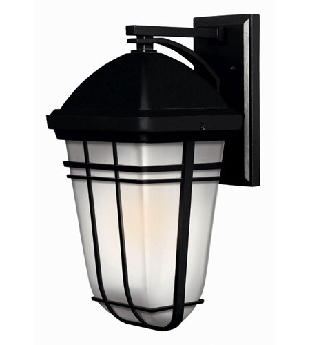Hinkley Lighting Buckley 1 Light Outdoor Wall Lantern in Black 1374BK-ES photo