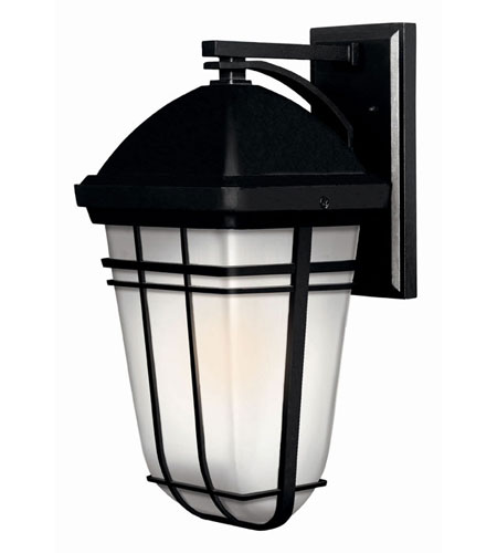 Hinkley Lighting Buckley 1 Light Outdoor Wall Lantern in Black 1374BK-LED photo