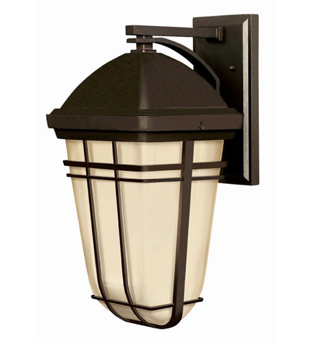 Hinkley Lighting Buckley 1 Light Outdoor Wall Lantern in Olde Bronze 1374OB-LED