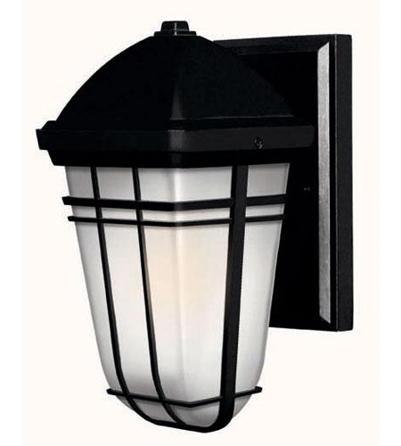 Hinkley Lighting Buckley 1 Light Outdoor Wall Lantern in Black 1376BK
