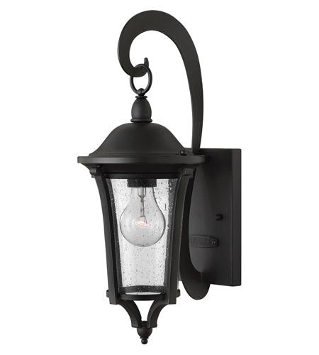 Hinkley Lighting Chesterfield 1 Light Outdoor Wall in Black 1380BK
