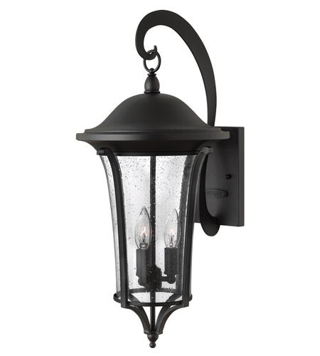 Hinkley Lighting Chesterfield 3 Light Outdoor Wall in Black 1385BK photo
