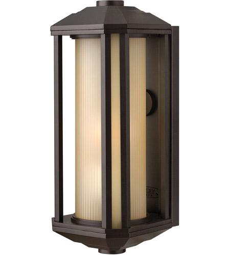 Hinkley Lighting Castelle 1 Light Outdoor Wall Lantern in Bronze 1390BZ