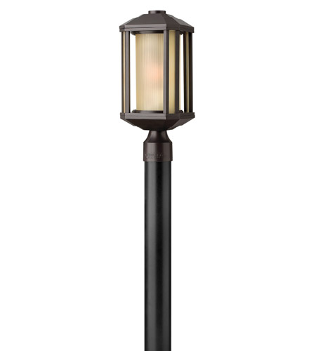 Hinkley Lighting Castelle 1 Light GU24 CFL Post Lantern (Post Sold Separately) in Bronze 1391BZ-GU24