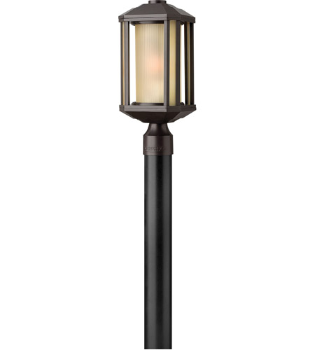 Hinkley Lighting Castelle 1 Light Post Lantern (Post Sold Separately) in Bronze 1391BZ