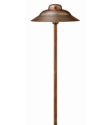 Hinkley Lighting Outdoor Low Volt 1 Light Landscape Path in Olde Copper 1404OC
