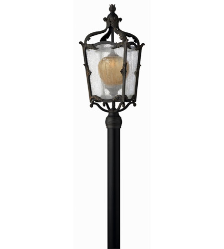 Hinkley Lighting Sorrento 1 Light Post Lantern (Post Sold Separately) in Aged Iron 1421AI-ES