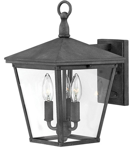 Hinkley 1429DZ-LL Trellis LED 15 inch Aged Zinc Outdoor Wall Mount photo