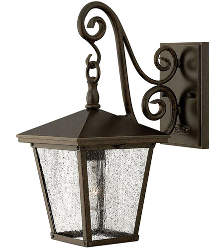 Hinkley 1430RB Trellis 1 Light 15 inch Regency Bronze Outdoor Wall Mount in Incandescent photo