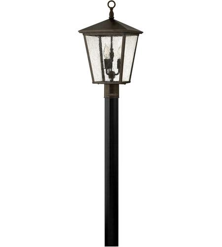 Hinkley Lighting Trellis 1 Light LED Post Lantern (Post Sold Separately) in Regency Bronze 1431RB-LED