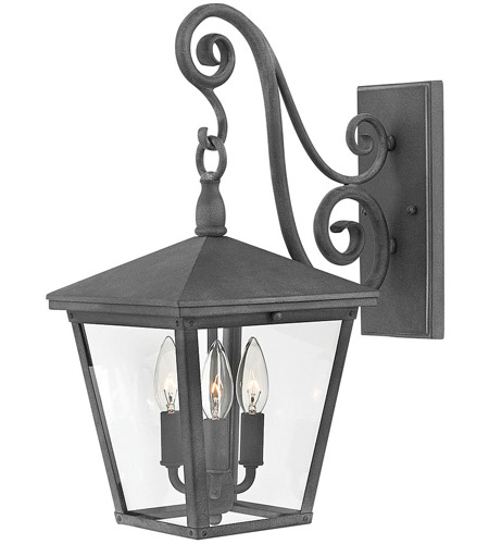 Hinkley 1434DZ-LL Trellis LED 20 inch Aged Zinc Outdoor Wall Mount photo