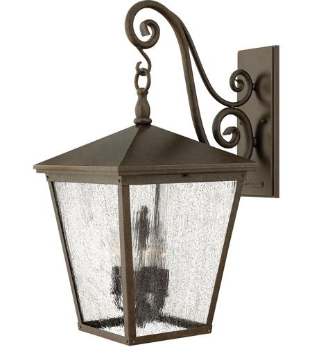 Hinkley Lighting Trellis 1 Light LED Outdoor Wall in Regency Bronze 1438RB-LED photo