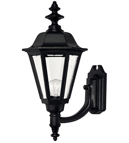Hinkley 1449BK Manor House 1 Light 21 inch Black Outdoor Wall Lantern photo