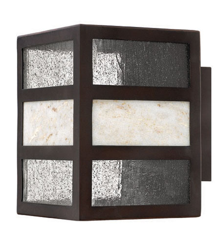 Hinkley Lighting Sierra 1 Light Outdoor Wall Lantern in Spanish Bronze 1450SB-ES