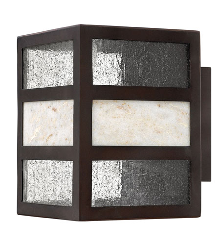 Hinkley Lighting Sierra 1 Light GU24 CFL Outdoor Wall in Spanish Bronze 1450SB-GU24 photo