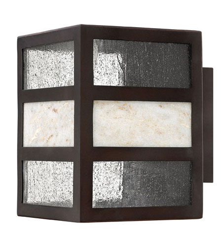 Hinkley Lighting Sierra 1 Light Outdoor Wall Lantern in Spanish Bronze 1450SB