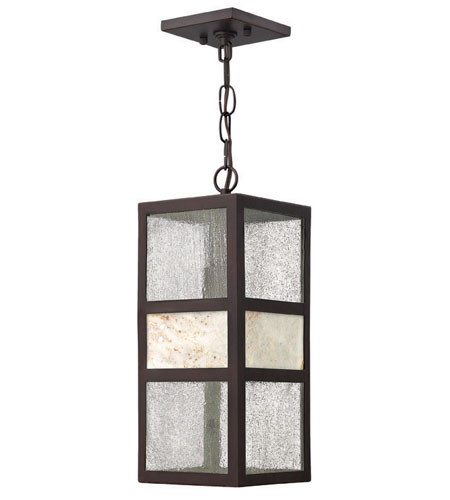Hinkley Lighting Sierra 1 Light Outdoor Hanging Lantern in Spanish Bronze 1452SB-ES