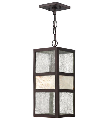 Hinkley Lighting Sierra 1 Light Outdoor Hanging Lantern in Spanish Bronze 1452SB photo