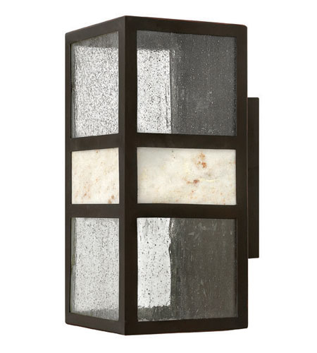 Hinkley Lighting Sierra 1 Light Outdoor Wall Lantern in Spanish Bronze 1454SB-ES