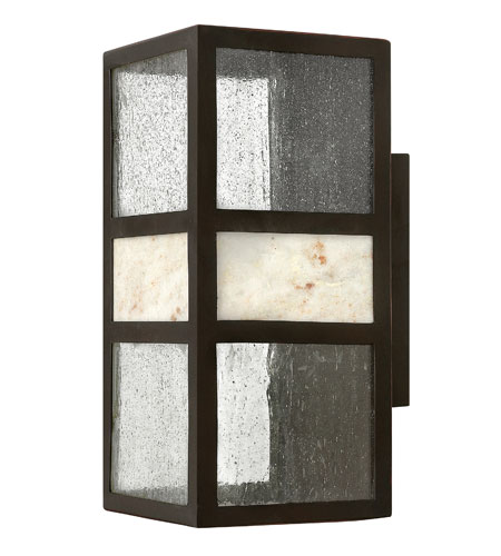 Hinkley Lighting Sierra 1 Light GU24 CFL Outdoor Wall in Spanish Bronze 1454SB-GU24