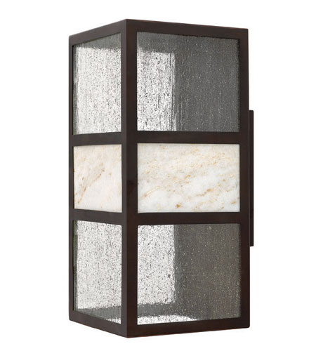 Hinkley 1455SB-ES Sierra 1 Light 15 inch Spanish Bronze Outdoor Wall Lantern in Energy Star, Compact Fluorescent photo