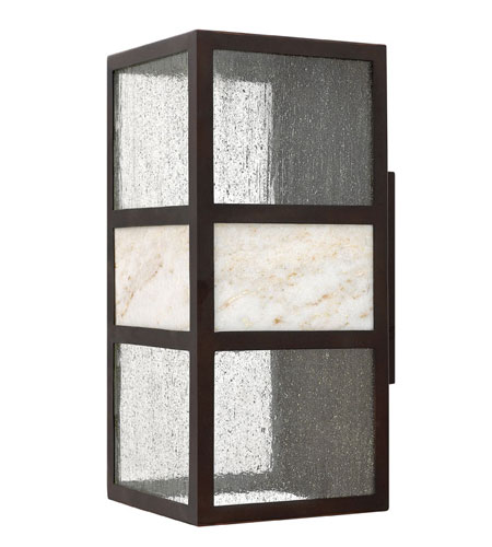 Hinkley Lighting Sierra 1 Light Outdoor Wall Lantern in Spanish Bronze 1455SB photo