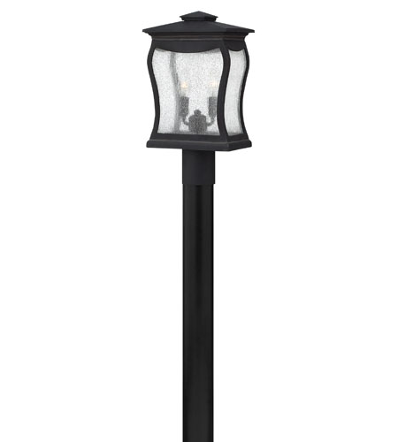 Hinkley Lighting Richmond 2 Light Post Lantern (Post Sold Separately) in Museum Black 1481MB