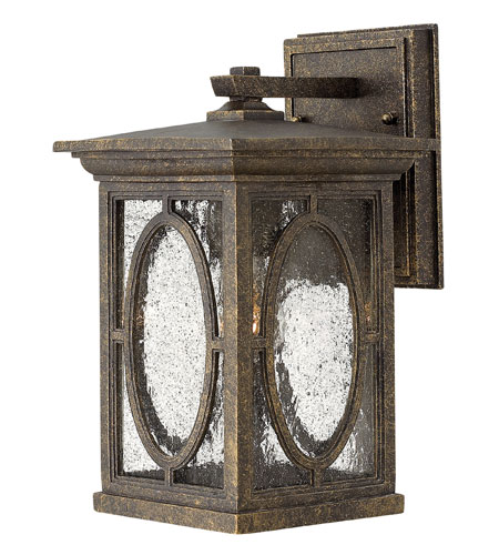 Hinkley Lighting Randolph 1 Light Dark Sky Outdoor Wall Lantern in Autumn 1490AM-DS