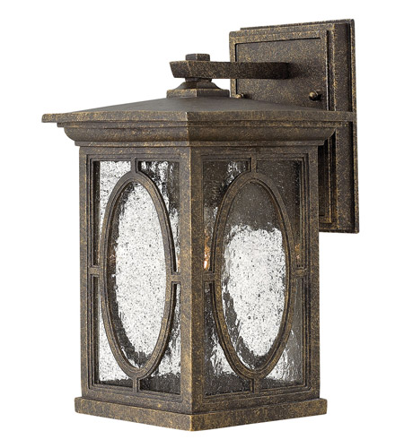 Hinkley 1490AM Randolph 1 Light 11 inch Autumn Outdoor Wall Lantern in Incandescent photo