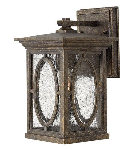 Hinkley Lighting Randolph 1 Light Standard Outdoor Wall Lantern in Autumn 1490AM