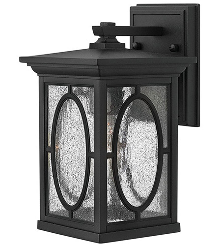 Hinkley 1490BK Randolph 1 Light 11 inch Black Outdoor Wall in Incandescent photo