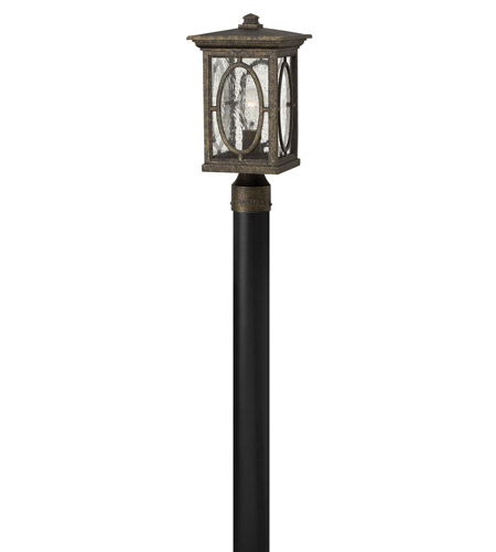 Hinkley 1491AM Randolph 1 Light 16 inch Autumn Post Lantern in Incandescent, Post Sold Separately photo